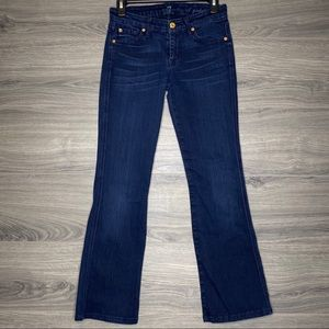 7 FOR ALL MANKIND A Pocket Bootcut Jeans Sz 26